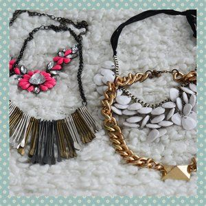 Charlotte Russe Statement Necklaces (4)